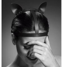 Bijoux Indiscrets SP) MAZE Kocie Nakrycie Głowy Brązowy