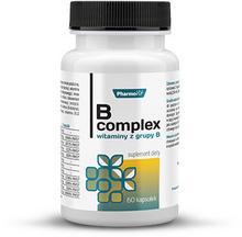 Pharmovit Witaminy z grupy B - complex, suplement diety, Pharmovit, 60 kaps. PHARMOVIT4