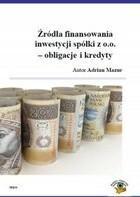 Źródła finansowania inwestycji spółki z o.o obligacje i kredyty Adrian Mazur