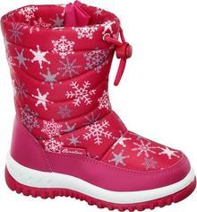 Cortina śniegowce dzięciece różowe