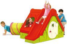 Bazkar Domek dla dzieci 104x240x160cm Bazkar FUNTIVITY czerwony BK-CU223317