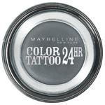 Maybelline Color Tattoo 24HR Kremowo-żelowy cień do powiek nr 55 Charcoal 4ml