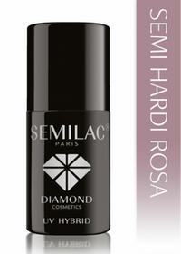 Semilac SEMILAC SEMI HARDI ROSA Hybrydowy żel budujący na paznokcie 7ml SALE 0000056904