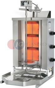 Potis Kebab/gyros gazowy 10,5 kW wsad 40 kg GD 3 GD 3