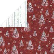 Papier ozdobny 30,5x30,5 White Christmas - 02
