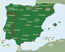 Hiszpania Portugalia mapa 1:900 000 Freytag & Berndt - Freytag & Berndt