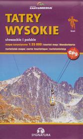 Sygnatura Tatry Wysokie mapa 1:25 000 Sygnatura