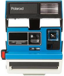 Polaroid 600 Tennis blue limited edition