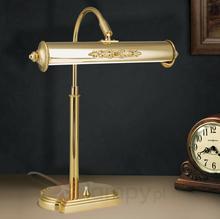 Orion Nostalgiczna lampa stołowa Picture, pozłacana