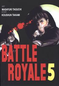 Koushun Takami Battle Royale 5  - BEZPŁATNY ODBIÓR w Księgarniach Świat Książki | DARMOWA WYSYŁKA od 99 zł
