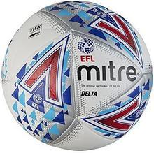 Mitre EFL Delta Professional piłka nożna, biały, biały 5-BB1979WHU