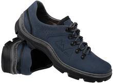 Kornecki Półbuty buty trekkingowe 1392 Granatowe 27333365