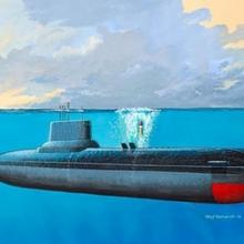 Revell Soviet Submarine Typhoon Class 05138