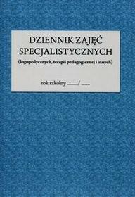 Dziennik zajęć specjalistycznych logopedycznych terapii pedagogicznej i innych