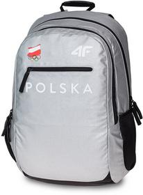 4F Plecak miejski Polska Pyeongchang 2018 PCU900 srebrny S4Z17-PCU900-one size-375