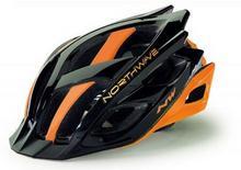 Northwave STORM kask rowerowy czarno-pomarańczowy
