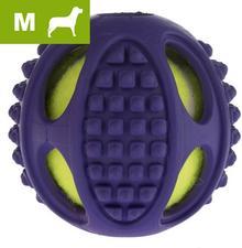 Bitiba Tenisowa piłka dla psa 2 w 1, M - 2 sztuki, 10 cm