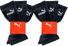Bonprix Skarpetki sportowe Puma (6 par) czarny