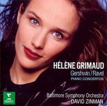 Gershwin Ravel Piano Concertos Helene Grimaud David Zinman