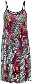 Bonprix Sukienka shirtowa kolorowy wzorzysty