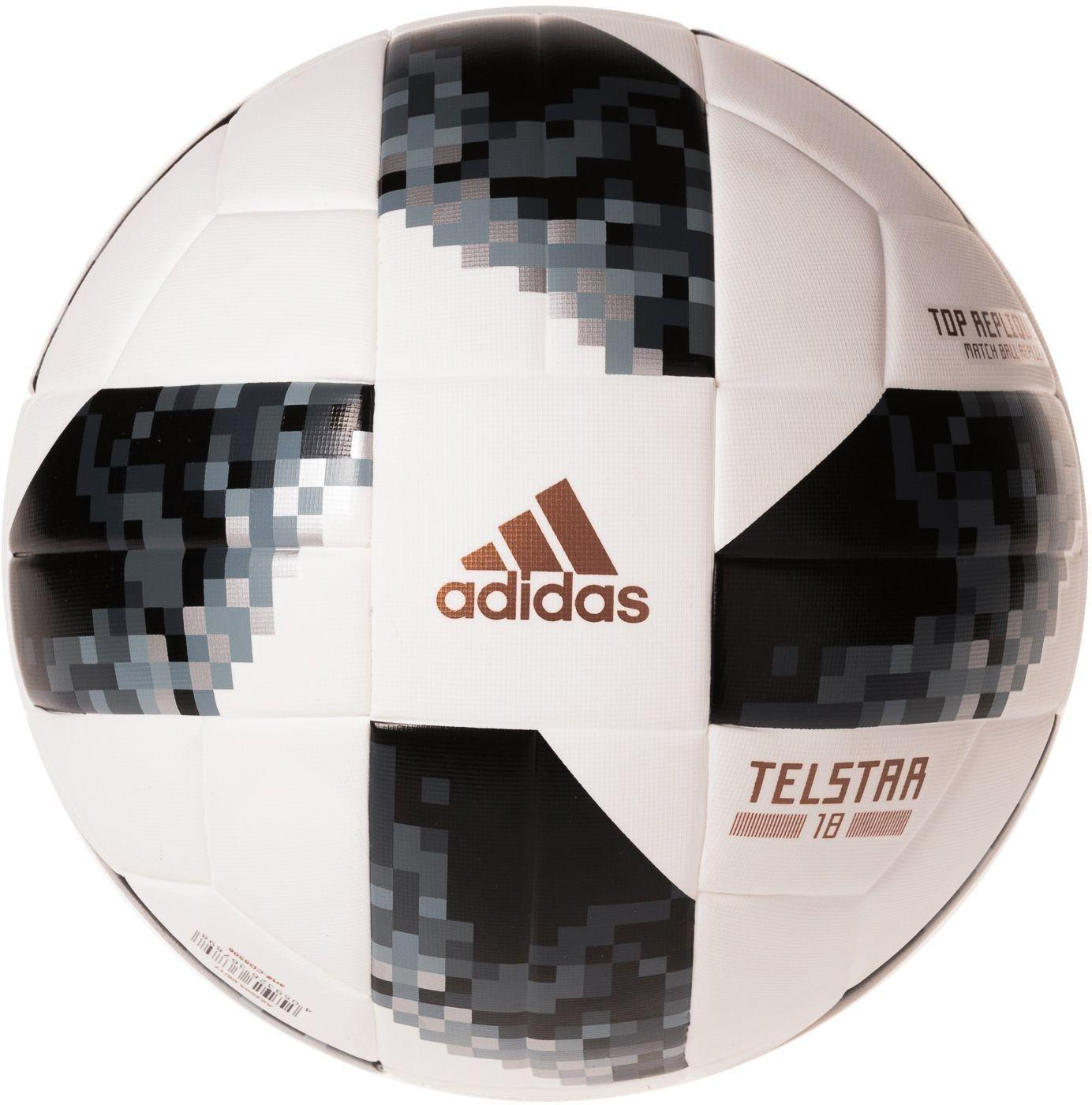 Adidas Piłka Telstar Mistrzostwa Świata 2018 Top Replique + kartonikowe opakowanie