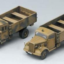 Academy German Cargo Truck [Early & Late] 13404