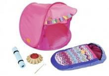 Zapf Creation Baby Born Zestaw biwakowy Namiot Ognisko Śpiworek 823743