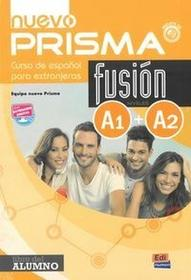 NOWELA Nuevo Prisma fusion A1+A2 Podręcznik + CD - Nowela