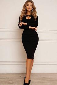 Sukienka ASHLEY BLACK 02002-182