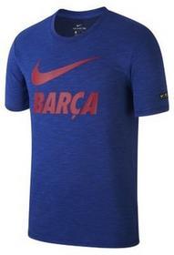 Nike T-shirt męski FC Barcelona - Niebieski 912896-455
