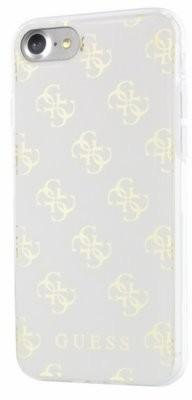 Guess 4G Resin Case- Etui iPhone 7 (biały/złoty) 10_9899