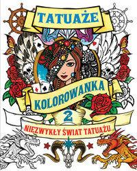 Tatuaże Tom 2 Kolorowanka - Kaktus