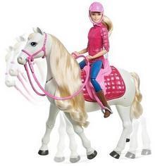 Mattel Barbie, lalka i Interaktywny Koń Barbie, FRV36