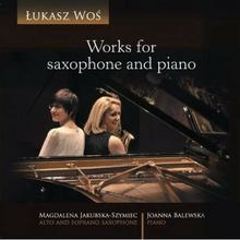 Soliton Works for saxophone and piano Łukasz Woś