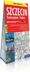 ExpressMap praca zbiorowa see you! in Szczecin, Świnoujście, Police. Papierowy plan miasta 1:22 000