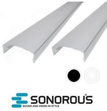 Sonorous Listwa maskująca do kabli CC50 Sonorous 50cm : Kolor - Srebrny