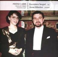 Soliton Pieśni i Arie. CD Krzysztof Sergiel, Anna Mikolon