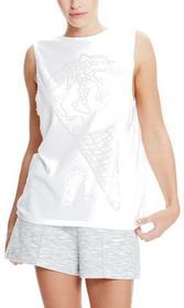 Bench koszulka Ice-Cream Burn Out Vest Bright White WH11185)