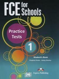 Express Publishing FCE for Schools Practice Tests 1 Student's Book - odbierz ZA DARMO w jednej z ponad 30 księgarń!