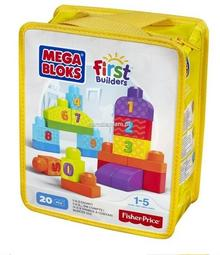 Fisher Price Mega Bloks Liczymy 1-2-3! First Builders DLH85