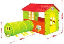 Mochtoys Domek z tunelem