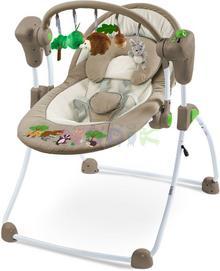 Caretero Huśtawka niemowlęca Forest brązowa) 12h TERO-8082