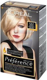 Loreal Recital Preference Farba do włosów Bardzo Jasny Blond Popielaty Z 9.1