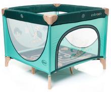 4Baby łóżeczko turystyczne Colorado turkusowe