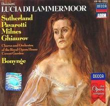 Luciano Pavarotti; Joan Sutherland Donizetti Lucia Di Lammermoor