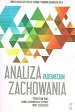 GWP Gdańskie Wydawnictwo Psychologiczne - Naukowe Analiza zachowania Vademecum - GWP