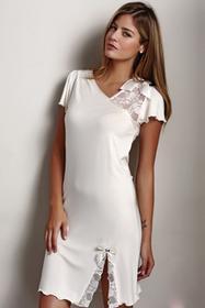 Luisa Moretti Bambusowa koszula nocna damska ZARA XL Jagodowy LM_2013