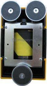 Tensator Rozwijana taśma ostrzegawcza + kaseta MIDI magnetyczna, ze stali nierdzewnej, zapięcie magnetyczne (Długość 3,5m)