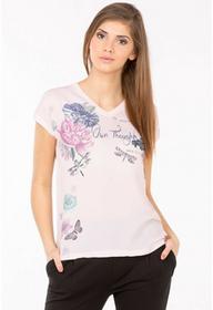 Monnari Bluzka z barwnymi kwiatami II