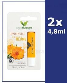 COSNATURE COSNATURE Naturalny ochronny balsam do ust z nagietkiem 2 x 4,8 g
